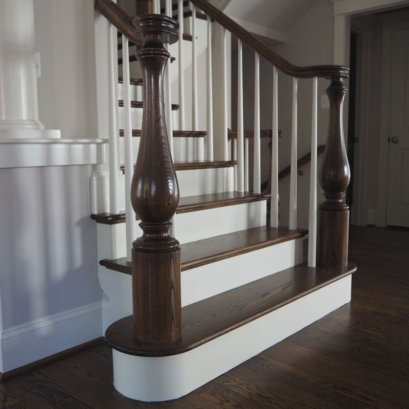 Large_Turned_Newel_Post_Red_Oak_2C