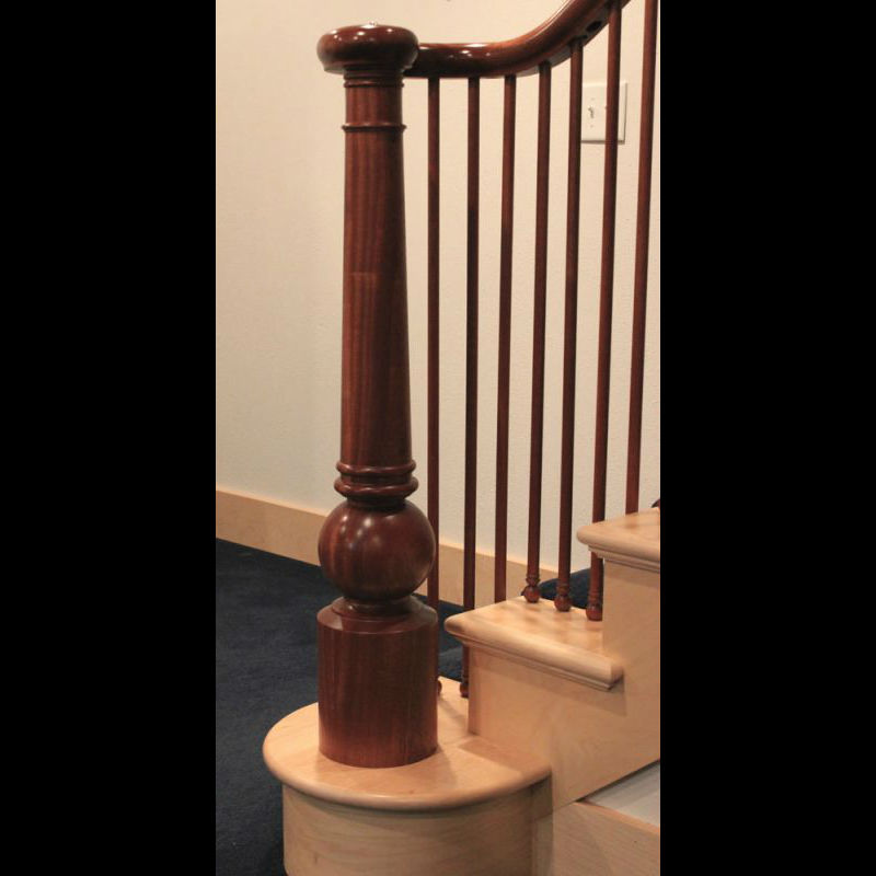 Large_Turned_Newel_Post_Sapele_14B