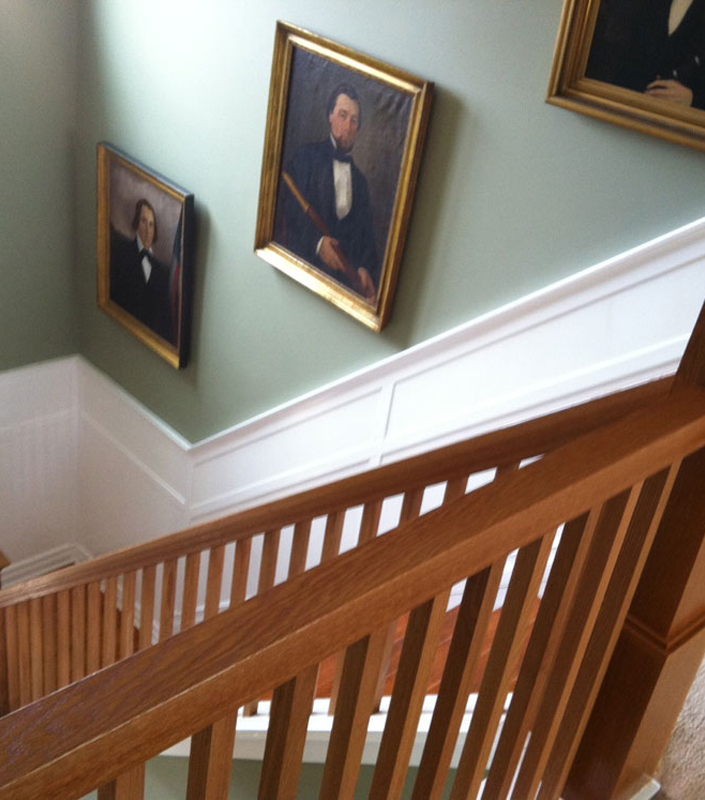 Staircase 17-B English Arts and Crafts