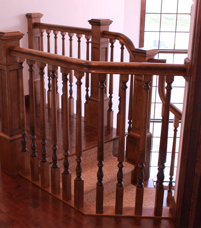 Staircase 18-E Hard Maple