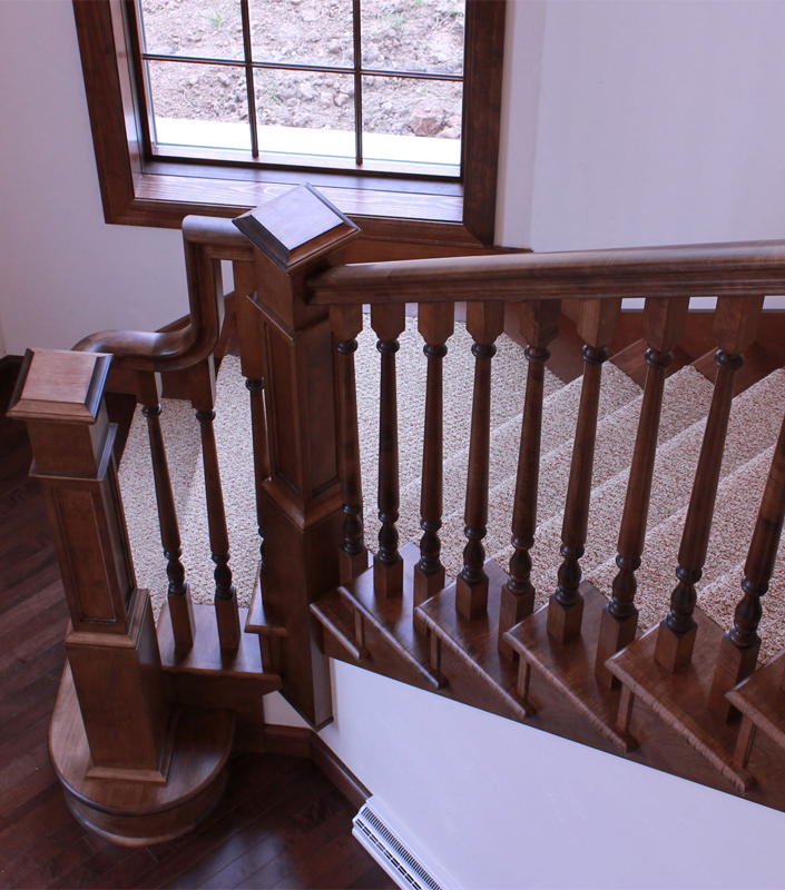 Staircase 18-F Hard Maple