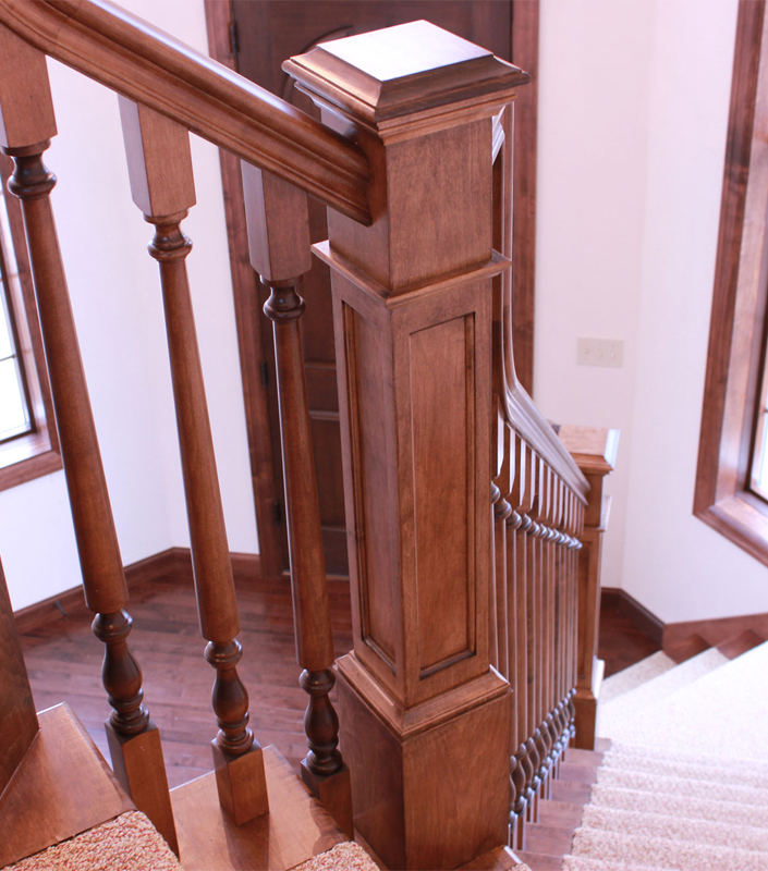 Staircase 18-H Hard Maple