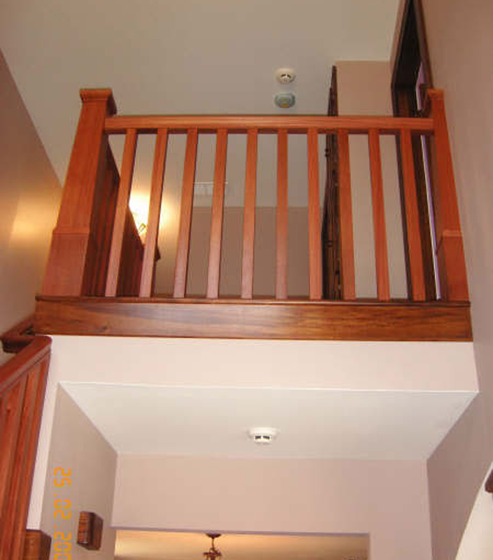 Staircase 9-C tapered box newels