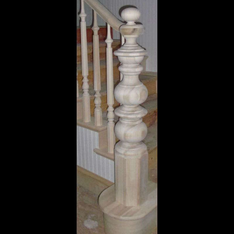 Turned_Newel_Post_Custom_18B