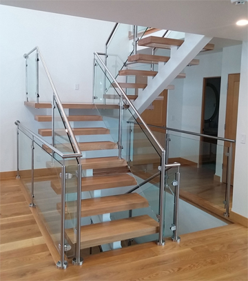 thick treads stair parts